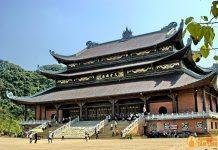 Điện tam thế chùa Bái Đính