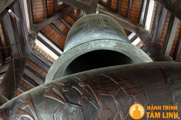 chuông đồng chùa Bái Đính