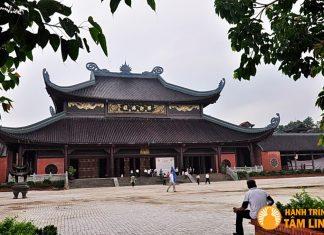 Điện pháp chủ chùa Bái Đính