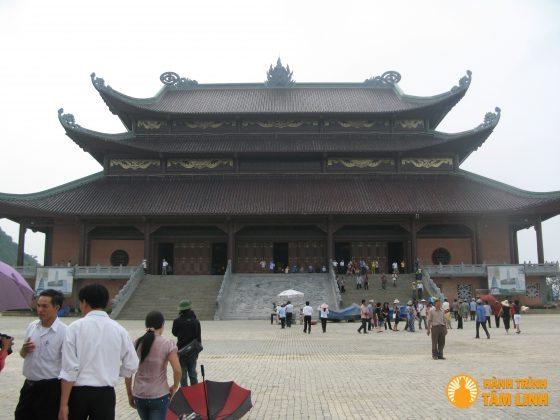 Điện tam thế chùa Bái Đính (Ninh Bình)