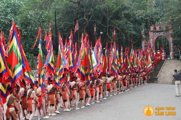 Lễ hội đền Hùng giỗ tổ Hùng Vương