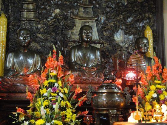 Tam Tổ Trúc Lâm chùa Lân