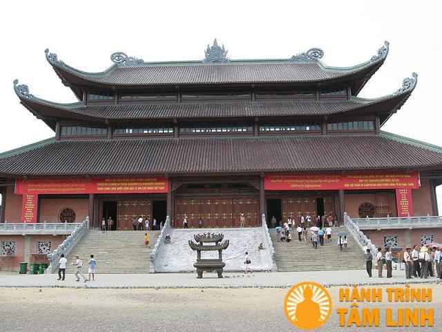 Tam quan nội chùa Bái Đính