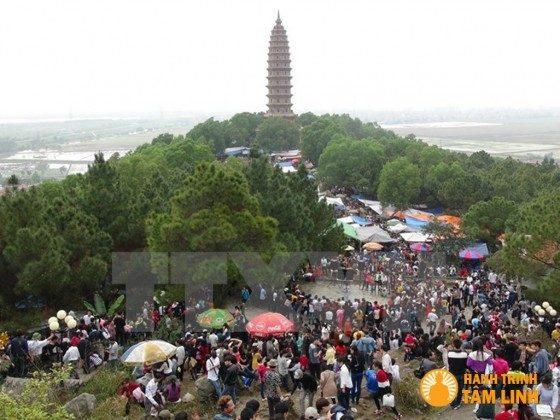 Tòa bảo tháp chùa Phật Tích (Tiên Du,Bắc Ninh)
