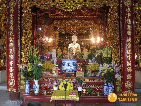 Tòa tam bảo chùa Phật Tích (Tiên Du,Bắc Ninh)