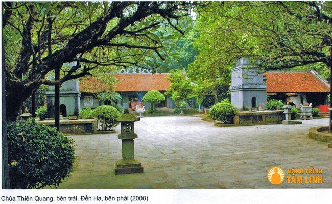Chùa Thiên Quang đền Hùng (Việt Trì,Phú Thọ)