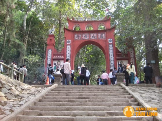 Cổng đền Hùng (VIệt Trì,Phú Thọ)