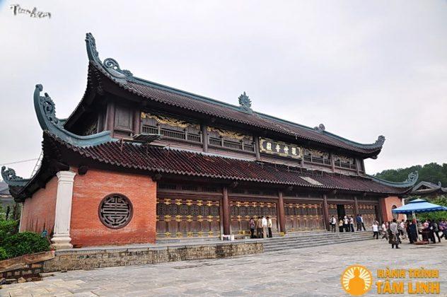 Điện quan âm chùa Bái Đính