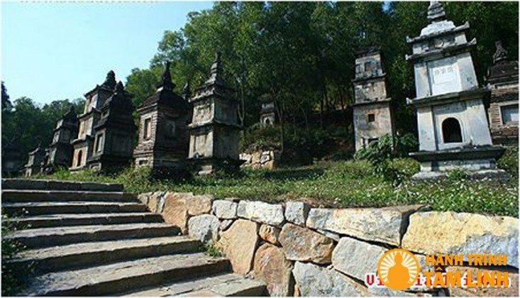 Vườn bảo tháp chùa Phật Tích (Tiên Du,Bắc Ninh)