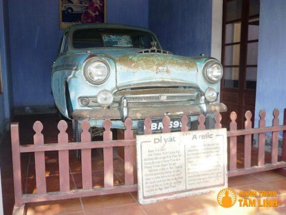 Chiếc xe Austin của Bồ tát Thích Quảng Đức