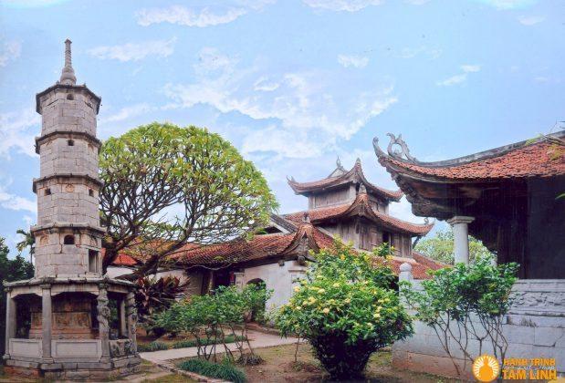 Toàn cảnh chùa Bút Tháp ( Thuận Thành - Bắc Ninh )