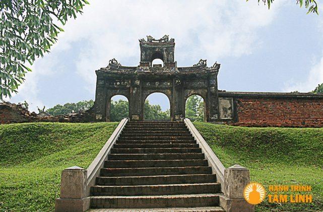 Diện Voi Ré - Cụm di tích ngoài kinh thành Huế