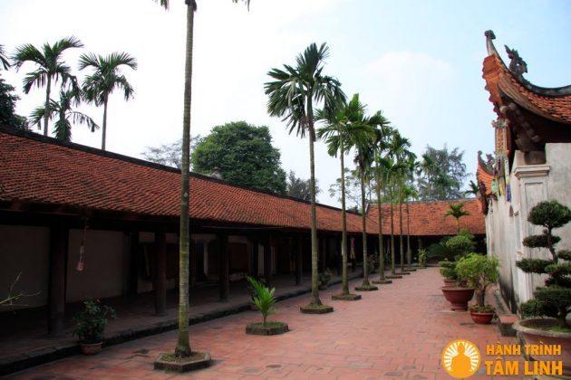Hành Lang chùa Bút Tháp ( Thuận Thành - Bắc Ninh )