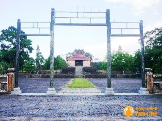 Lăng Thiệu Trị - Cụm di tích ngoài kinh thành Huế