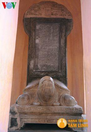 Bia đá thời chúa Nguyễn Phúc Chu