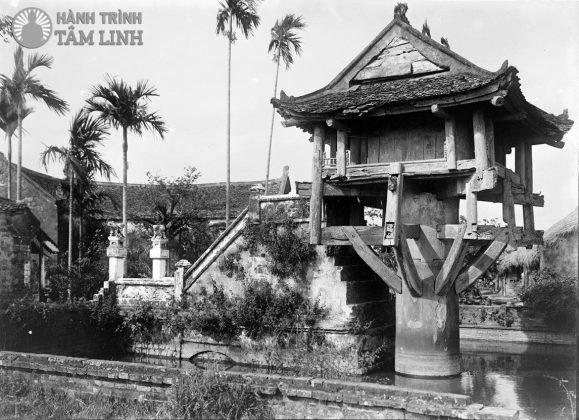 Chùa Một Cột năm 1898