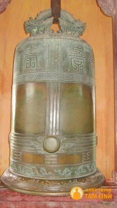 Đại Hồng Chung đặt tại chùa Thiên Mụ