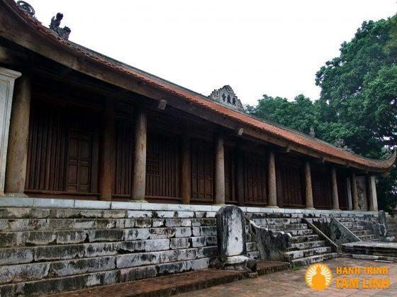 Gian chính chùa Trăm Gian ( Chương Mỹ, Hà Nội )