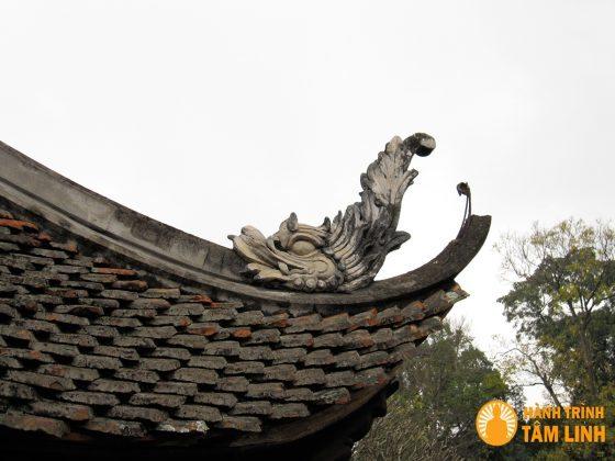 Hình Xi trang trí mái đầu đao