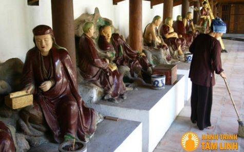 La Hán chùa Dâu ( Thuận Thành - Bắc Ninh )