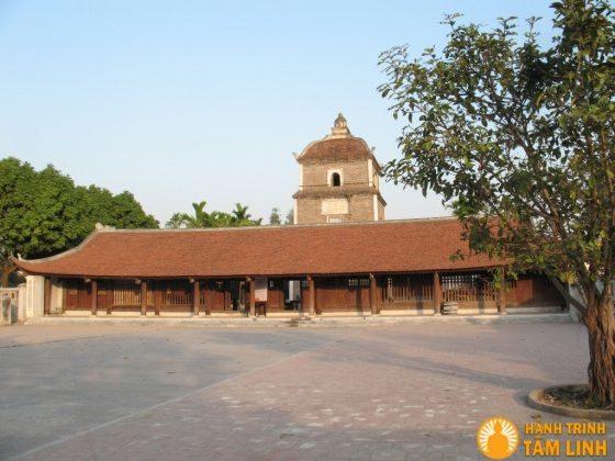 Toàn cảnh chùa Dâu ( Thuận Thành - Bắc Ninh )