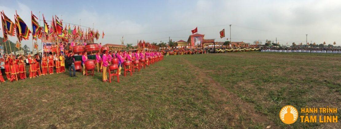 Khai mạc hội Tịch Điền ở Đọi Sơn, Duy Tiên, Hà Nam
