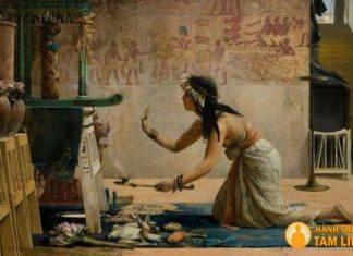 Ảnh minh họa phép thuật trừ tà, thần linh và ác quỷ thời Ai cập
