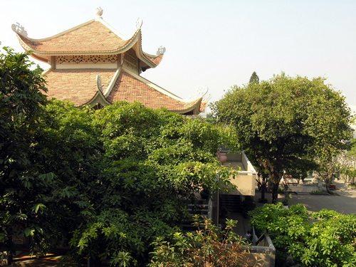 Chánh điện chùa Tịnh Xá