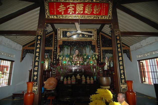 Chính điện chùa Kim Sơn