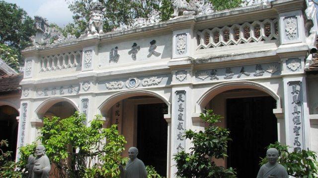 Chính điện chùa Thiên Tứ
