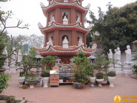 Chùa Chèm - Hàm Long Tự