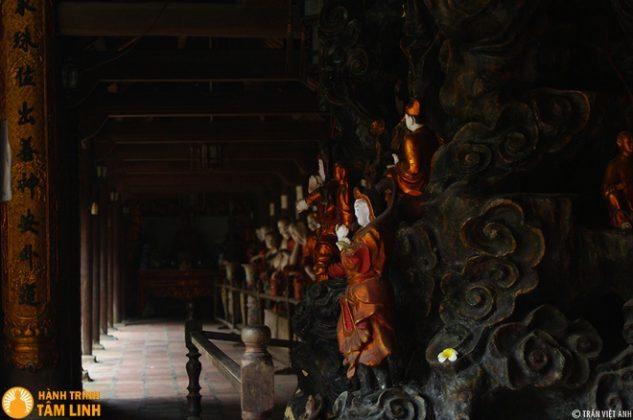 Chùa Chuông có kết cấu kiểu nội công ngoại quốc