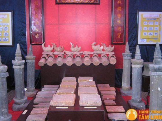 Cổ vật thế kỷ thứ 10 chùa Nhất Trụ