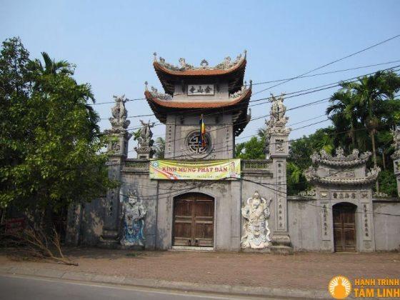 Cổng ngũ môn chùa Kim Sơn