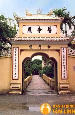Cổng chùa Phổ Chiếu (Lê Chân, Hải Phòng)