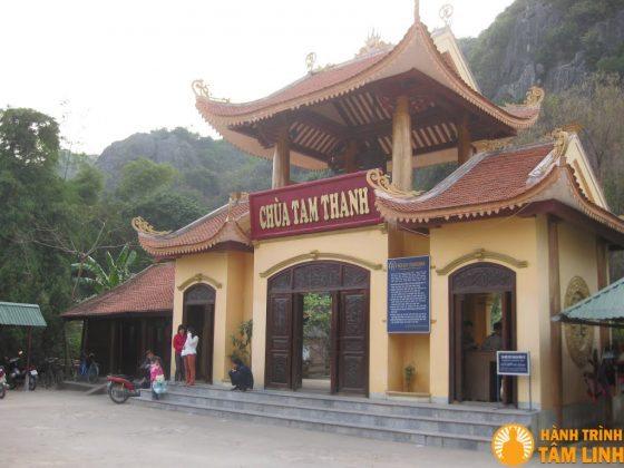 Cổng chùa Tam Thanh