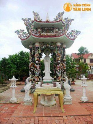 Đài Quan Âm chùa Thanh Quang