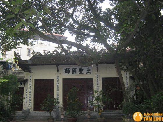 Đình thờ ông tổ đúc đồng Nguyễn Minh Không (Ngũ Xã, Ba Đình, Hà Nội)