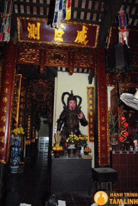 Đức Hộ Pháp chùa Quang Hoa