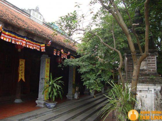 Hành lang chùa