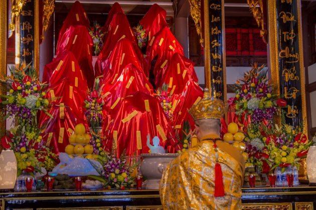 Lễ nhập tượng chùa Đại Tuệ