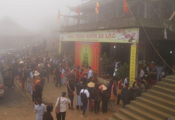 Ngược núi xin chữ chùa Đại Tuệ