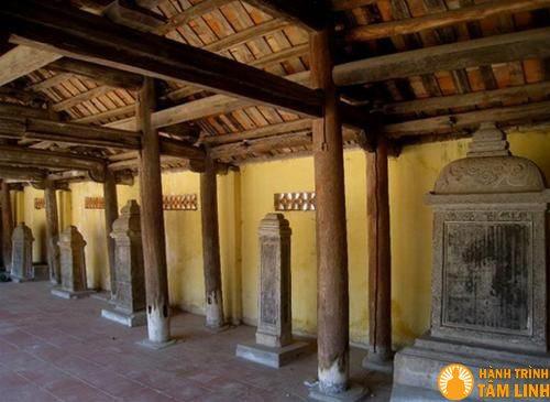 Nhà bia chùa Nành