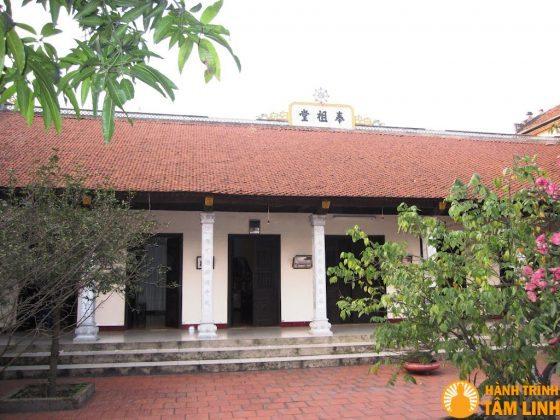 Nhà thờ tổ chùa Nga My