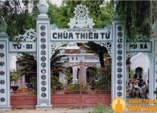 Tam Quan chùa Thiên Tứ