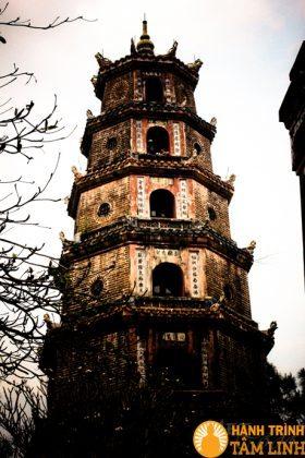 Tháp Phước Duyên chùa Thiên Mụ