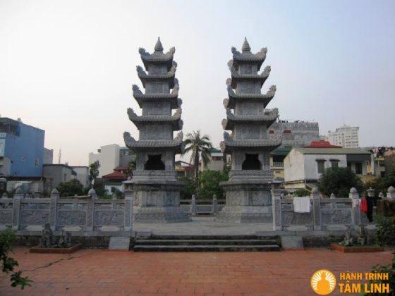 Tháp tổ chùa Nga My