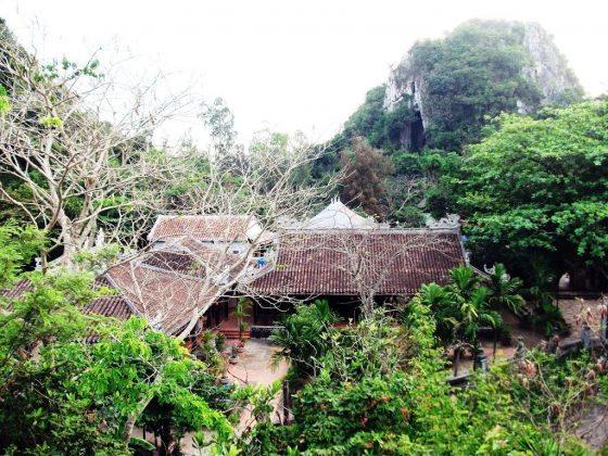 toàn cảnh chùa Tam Thai