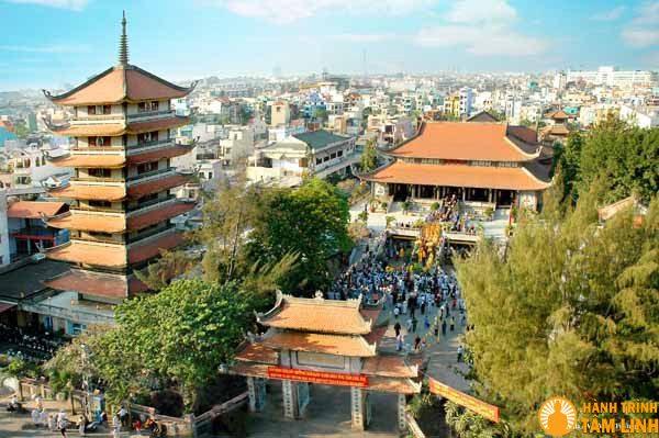 Toàn cảnh chùa Vĩnh Nghiêm