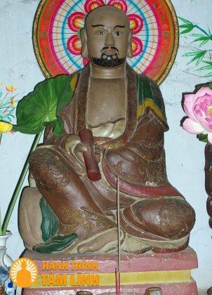 Tượng Đạt Ma Sư Tổ chùa Hải Tạng